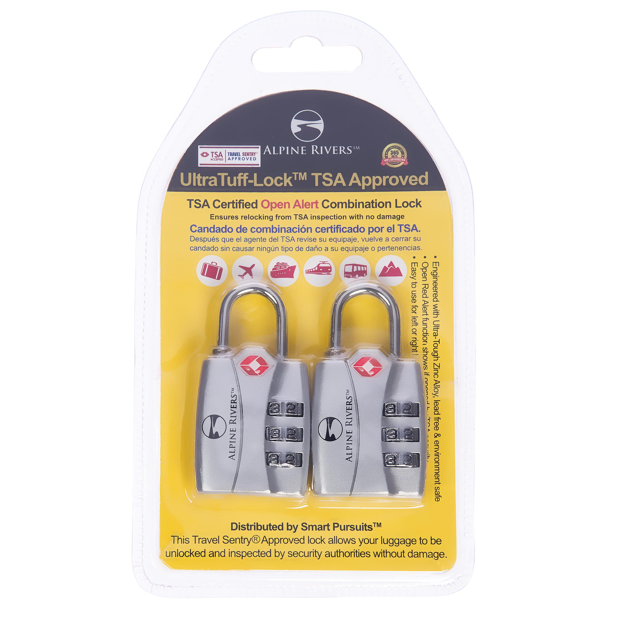 UltraTuff TSA Locks 2017 Design