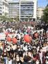 GREECE - Pupils resist against Corona measures