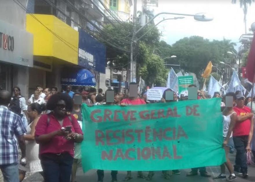 General strike Bahia