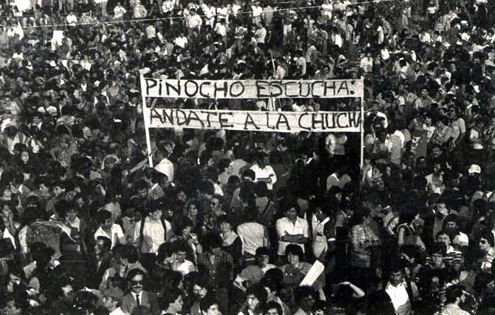 Chile protests 1970's