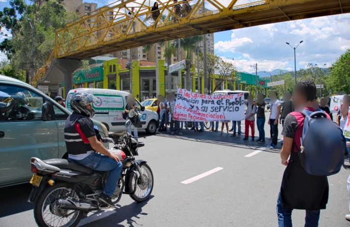 Student Protest Colombia