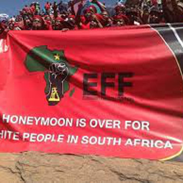South Africa: Why does the EFF demands expropriation of white land owner?
