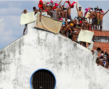 SRI LANKA - Prison Riot