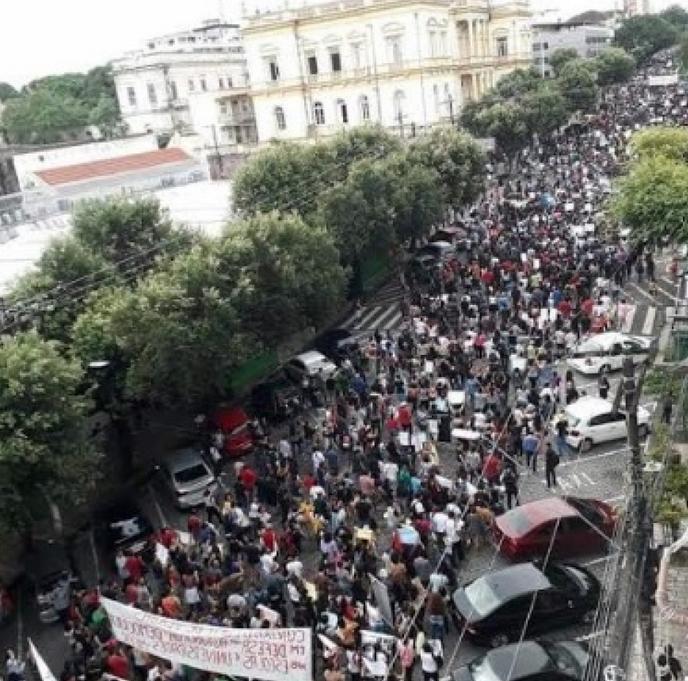 General strike Amazonas 3