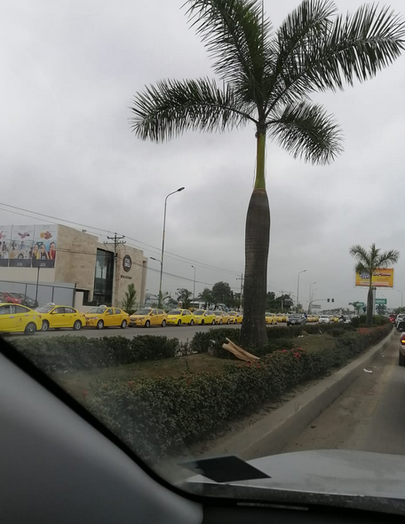 Taxi protest continues