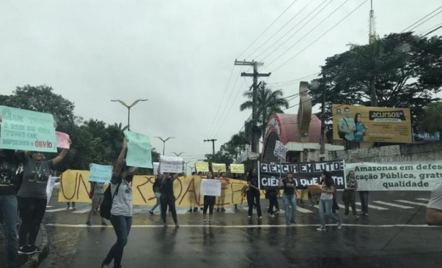 General strike Amazonas 2