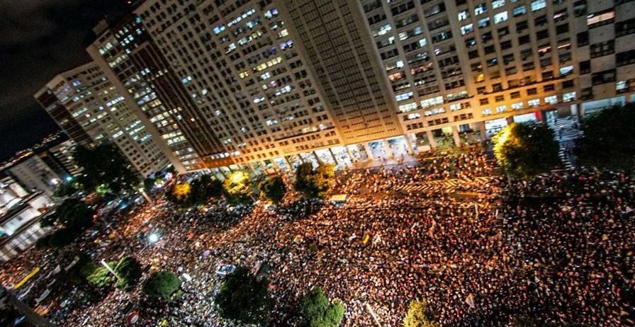 Brazil general strike 2