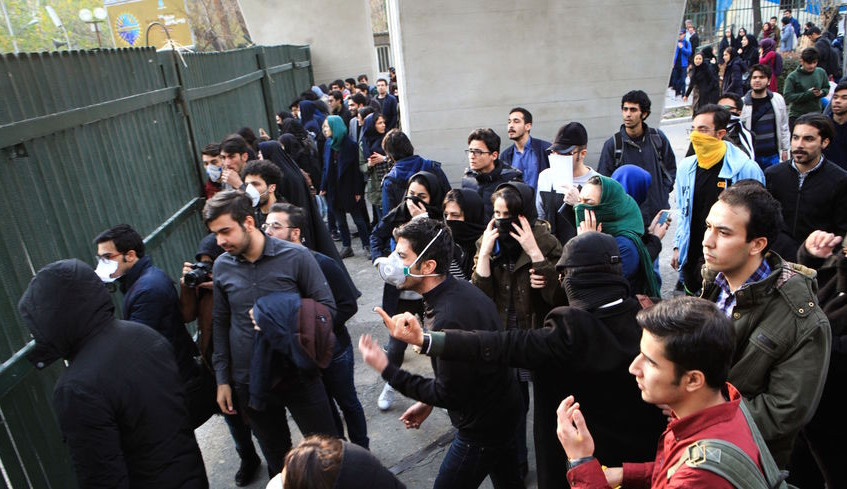 masses iran