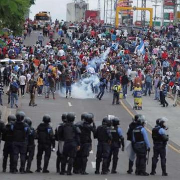 HONDURAS - Anti-government protests!