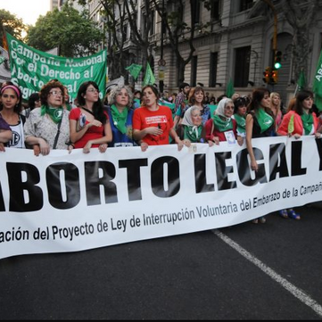 ARGENTINA - Women Protest for Abortion Legalization
