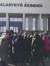 KAZAKHSTAN - Women protesting against the government