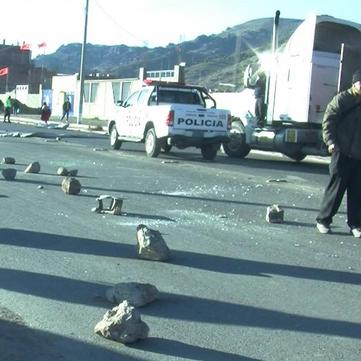 PERU - Teachers on strike!