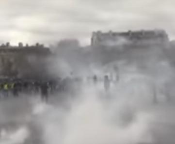 "FRANCE - ""Yellow vests"" protests despite Corona Virus"