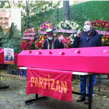 TURKEY - TKP/ML Funeral of Comrades Nubar, Özgür and Asmin