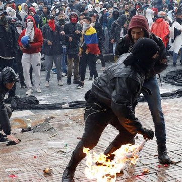 COLOMBIA - Nationwide protests