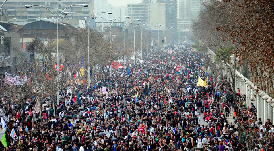 Chile protests 2010's