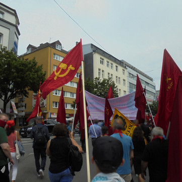 GERMANY - Memorial demonstration for 200 years of Friedrich Engels