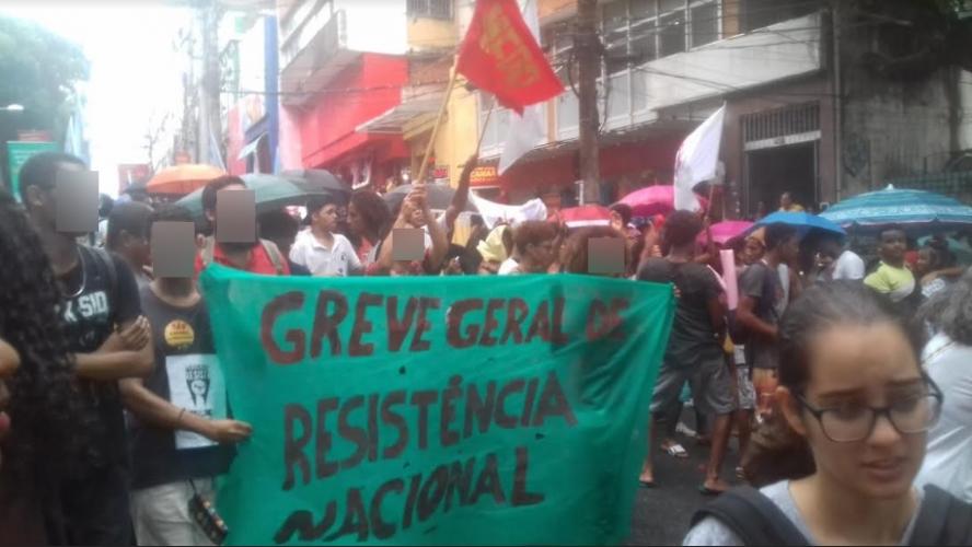General strike Bahia 2