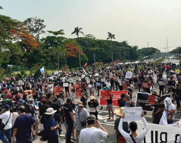 PHILIPPINES – Protests against Anit-Terror-Bill