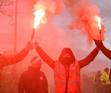 FRANCE - Protests and strikes against the pension reform continue!