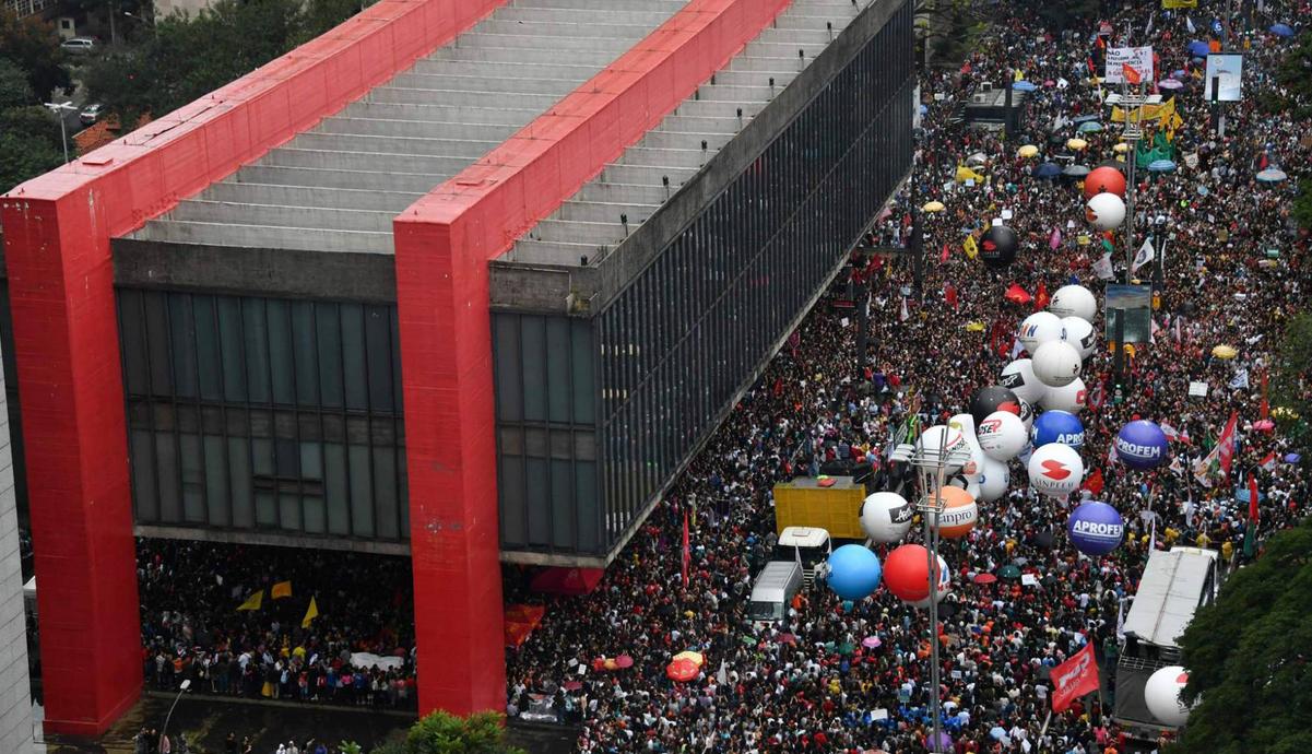 Brazil general strike 6