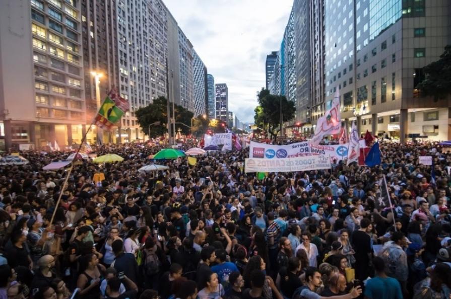 General strike Rio de Janeiro 3