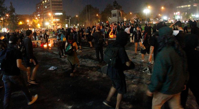 protest night