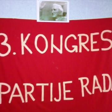 SERBIA - 3rd Congress of Partija Rada was held