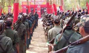 INDIA – Armed tribal protest construciton of police station