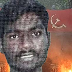 INDIA - Red Salute Velmurugan