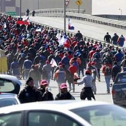PERU/CHILE: Coppermine strikes