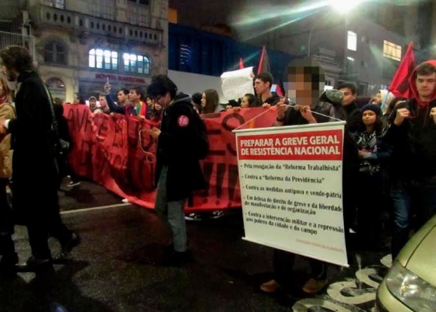 General strike for National resitence