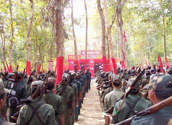 INDIA - Meeting of 10.000 revolutionaries