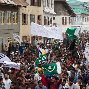 INDIA – On the latest protests in Kashmir