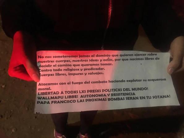 Flyer found in church