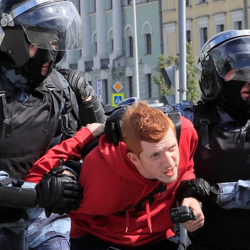 RUSSIA – Ongoing protests against the government