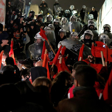 GREECE – Strikes and struggles against the government and police