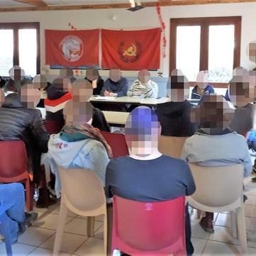 FRANCE - Conference of revolutionary mass organizations
