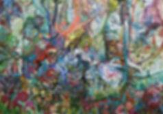 Ashley Beerdat, Pandora, Oil on Canvas,