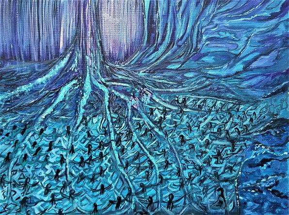 Ashley Beerdat, Ewywa- The Tree of Life,