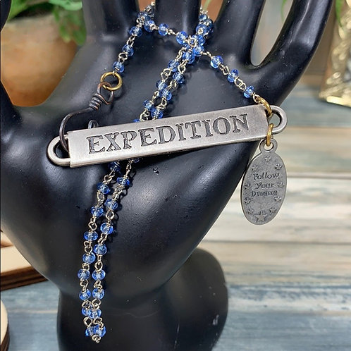 Expedition follow your dreams necklace