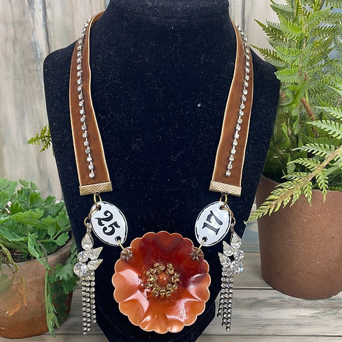 Adorned Crown it's all in the numbers necklace