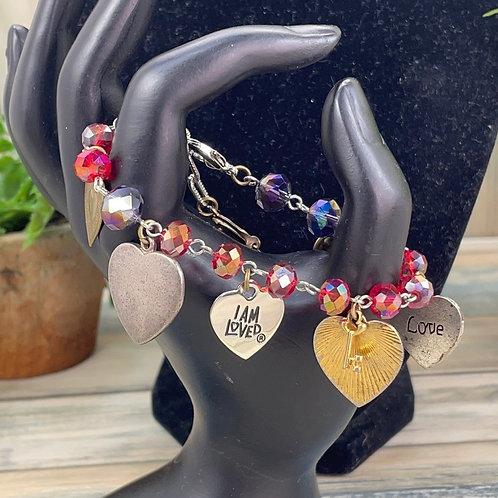 Adorned Crown assemblage all about love Bracelet
