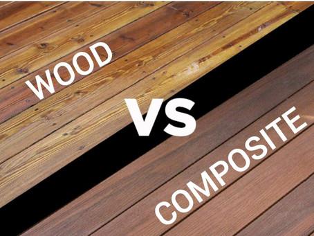 Wood Decking vs Composite Decking