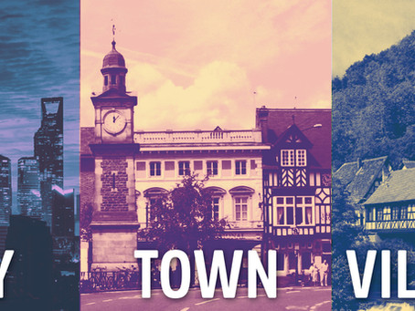 The Differences Between a Village, Town and City