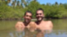 Hugo Leoardo e Conrado Falbo