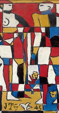 Dos_figuras_constructivas_-_1945_-_óleo_