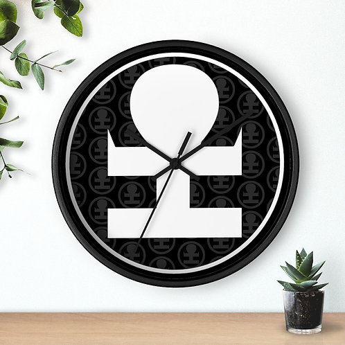 A Reminder to Be Mindful Wall clock