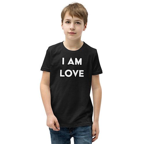 "Youth Short Sleeve ""I Am Love"" T-Shirt"