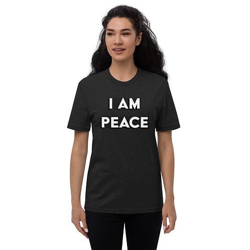 """I AM PEACE"" Unisex recycled t-shirt"